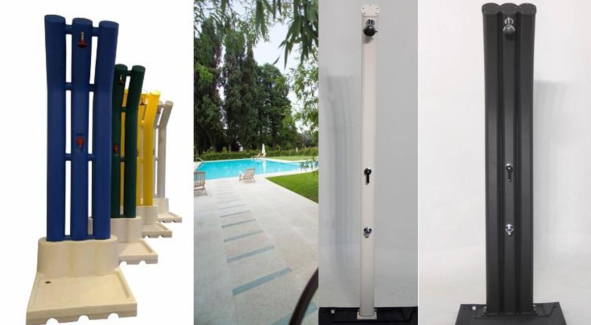 Doccia per piscina solare raccordi tubi innocenti - Doccia solare per piscina ...