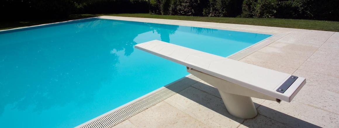 trampolino piscine Kanguro