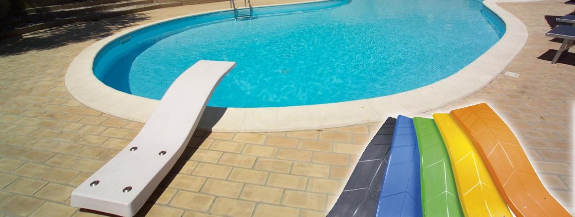 trampolino piscine delfino