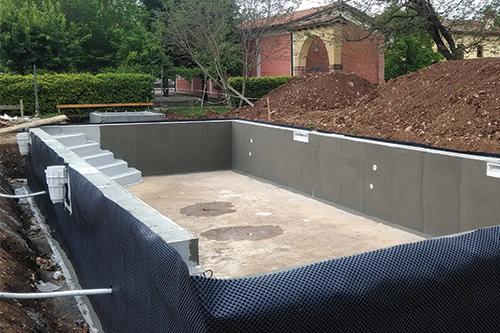 Costruzione piscine veneto