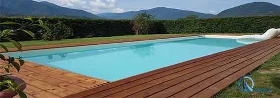 costruzione piscina a skimmer