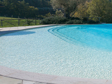 Rivestimento per piscina in pvc gress marmo o combinato