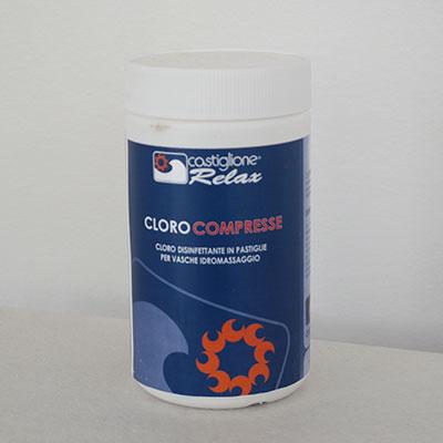 cloro per vasche idromassaggio